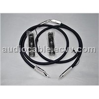 Sell pair AudioQuest Audio Wild Blue Yonder RCA interconnect cables with 72V DBS