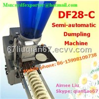 Semi-automatic dumpling machine