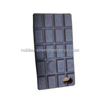 Silicon Cover-Chocolate Shape for iPhone 4G