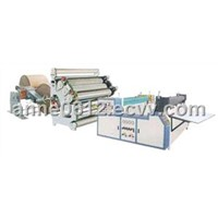 Single face corrugated cardboard production line