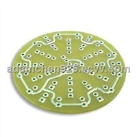 Single-sided PCB with High Tg/Lead-free HASL Surface Treatment, Used for Photo-electronic Display