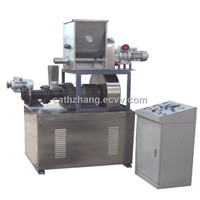 Small extruder machine for fish food