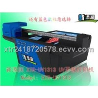 Small format small size uv flatbed printer XTR1313 LED cool light curing UV Printer