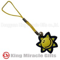 Soft PVC Handset Charm for Promotion Use