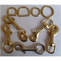 Solid Brass Snap Hooks - Brass Swivel - Quick Release, Spring Snap, Round Rings - China Manufacture