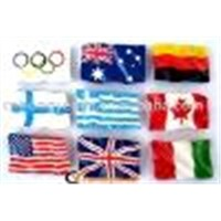 Souvenir Polyresin Flag Fridge Magnets