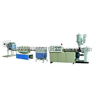 Spiral Cable Protection Pipe Extrusion Line