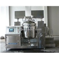 Steam heating vacuum homogenizing emulsifiers equipment