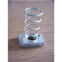 Steel Channel Nut With Spring