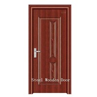 Steel Wooden Door  (Jkd-1097)