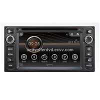 Toyota universal in dash car dvd with gps navigation/V6 CD/DTV/Radio/Bluetooth