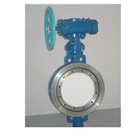 Triple-Eccentric Metal to Metal Seal Butterfly Valve