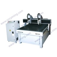 Two heads advertising CNC router YMM1212