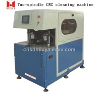 Two-Spindle CNC Cleaning Machine