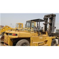 Used Wheel Forklift 10ton For Sale