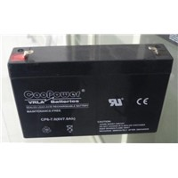 VRLA battery for  electric toys  6V7AH