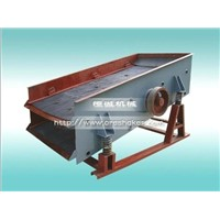 Vibrating screen for gold ore mining