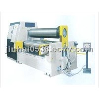 W11SCNC lower level of Hydraulic Three Roller Bending Machine CNC