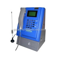 W806-indoor GSM coin payphone,wireless/cordless for desktop/kiosk/wall-mounted