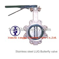 Wafer Type Butterfly Valves with Centering lugs
