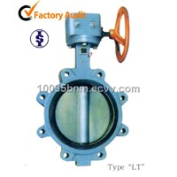 Wafer Type Butterfly Valves with Centering lugs-GGG40/25