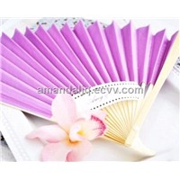 Wedding Favor Customized paper fan