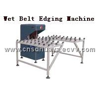 Wet Belt Glass Edging Machine