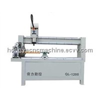 Wood Engraving Machine with Rotary/CNC Router