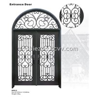 Wrought iron door HT-202C