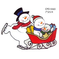 YIZHIHAO CHRISTMAS WINDOW STICKER /YIZHIHAO CHRISTMAS WINDOW CLING/YIZHIHAO CHRISTMAS GEL STICKER