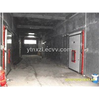 Yantai Ningxin large scale blast freezer cold room project