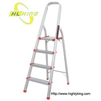 aluminium folding domestic step ladder(HH-104)