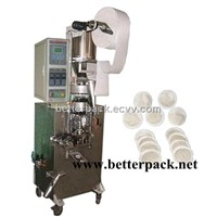 automatic round shape tea bags coffee pod packaging machines