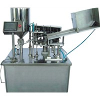automatic toothpaste filling and sealing machine
