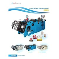 box erecting machine