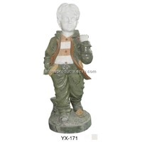 chirden statue,marble statue,statue,sculpture,marble carving,china marble