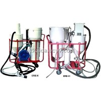 closed circuite suction blast machine