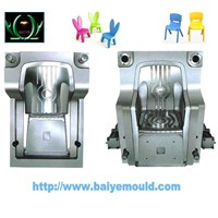 colorful plastic kid chair injection mould
