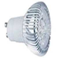 decor gu10 led bulb light 3w cool white with 2 years warranty