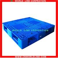 double deck stacking euro plastic pallet