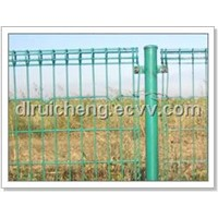 double ring wire fence, double ring fence panel, double circle fence