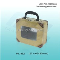 gift tin boxes with a handle,lunch tin boxes,gift tin boxes with open window