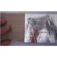 heat sealing the grid foil