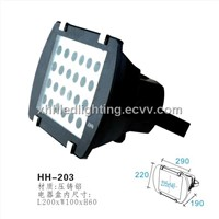 led projection light housing 12*1w HH-203