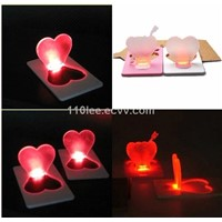 love led card light /Decorative lights/romantic light