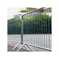 metal traffic barrier