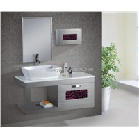 modern pvc bathroom mirror cabinet