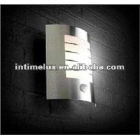 motion sensor stainless steel wall light lamp