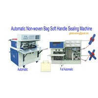 non-woven bag soft handle sealing machine
