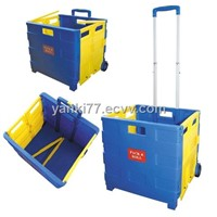 plastic folding cart
